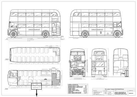 Routemaster Drawing